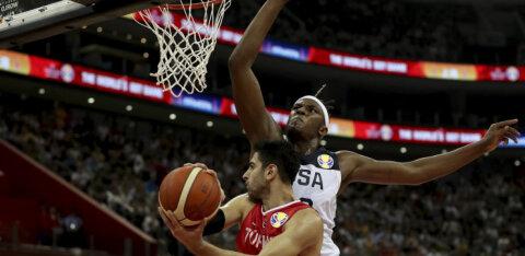 Türgi korvpallur pärast nappi kaotust USA-le: olen meeskonnakaaslaste üle väga uhke