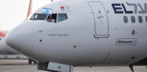 В Берлине приземлился израильский самолет с надписью #WeRemember