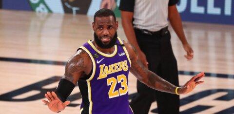LeBron James näitab, et vananemine on nõrkadele