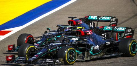 Боттас стал победителем гонки Гран-при России, Квят — восьмой