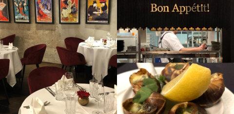 ФОТО | Новый французский ресторан в Таллинне, где не подают колу, а дети дошкольного возраста едят бесплатно