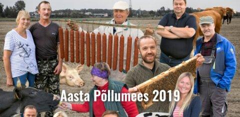 HÄÄLETUS   Loe kõigi Aasta põllumehe kandidaatide kirjeldusi ning otsusta, kellest saab Rahvapõllumees 2019