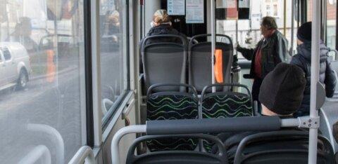 В Ласнамяэ в автобусе одна женщина напала на другую