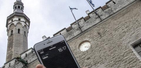 VIDEO | Kas kellad keeratud? Kuidas keeratakse aega tagasi pealinna vanadel ja väärikatel kelladel?