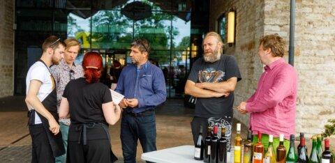Стартовал X Всеэстонский конкурс домашнего вина и сидра
