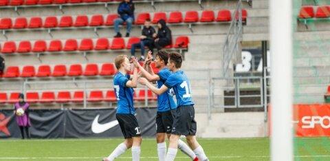 FOTOD | Eesti jalgpallinoored alistasid ka Leedu ja võitsid UEFA sõprusturniiri täiseduga