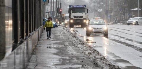 Talv on selleks korraks läbi: lähipäevad toovad vihma ja kuni seitse kraadi sooja