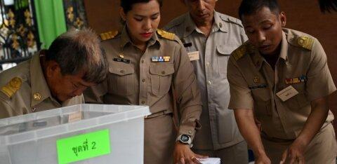 Первые всеобщие выборы за восемь лет начались в Таиланде