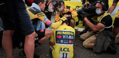 Tour de France`il võidu maha mänginud Roglic pisarsilmi: mul lihtsalt ei olnud jõudu