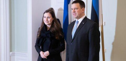 Юри Ратас попросил финского премьера держать границу для поездок в целях работы и учебы открытой
