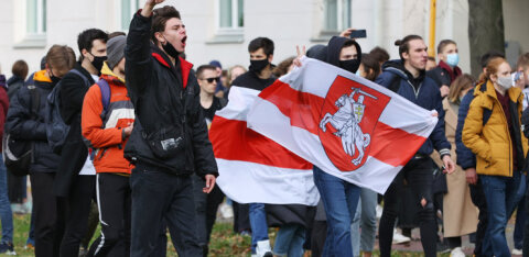 В Беларуси началась общенациональная забастовка. К ней присоединились госпредприятия, вузы, магазины, кафе