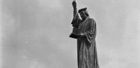 Harku valda prinditakse kuuemeetrine Martin Lutheri monument