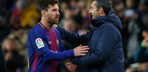 Messi kardab peatreeneri vallandamist: loodetavasti lastakse Valverdel tööd edasi teha