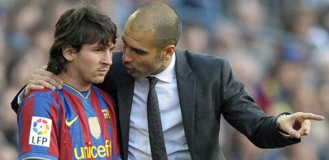 Pep Guardiola kommenteeris kuulujutte Lionel Messi jahtimisest