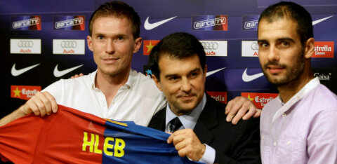 Valgevene jalgpallilegend kahetseb Barcelonaga liitumist: ma ei mõista, miks sellise otsuse tegin