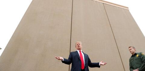 USA kohtunik keeras piirimüüri rahakraani kinni