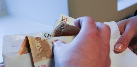Исследование: десятая часть работающих в Финляндии, Швеции и Норвегии жителей Эстонии имели дело с зарплатой в конверте