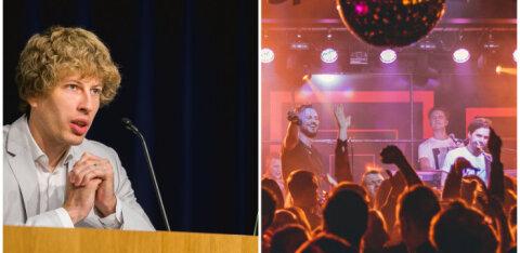 Tanel Kiik soovitab ööklubidest hoiduda