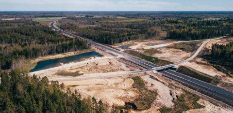 Подходит к концу строительство четырехполосного участка шоссе от Арду до Выыбу