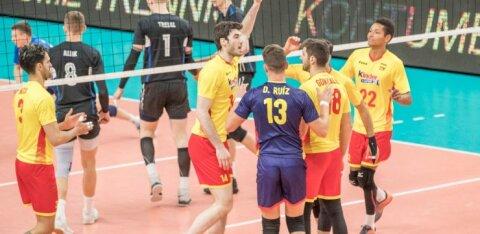Эстонские волейболисты неудачно стартовали в Евролиге