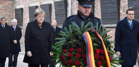 Ангела Меркель впервые посетила Освенцим