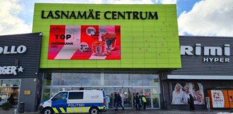 Полиция проводит проверки на соблюдение новых ограничений в Ласнамяэ, на очереди — общественный транспорт