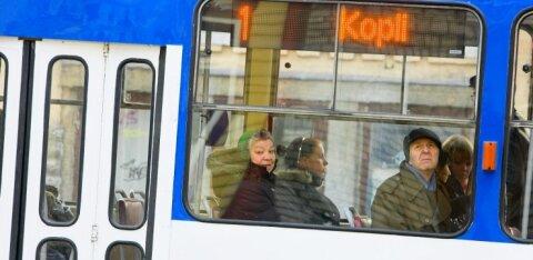 Tallinnas katkes mitmeks tunniks trammiliiklus
