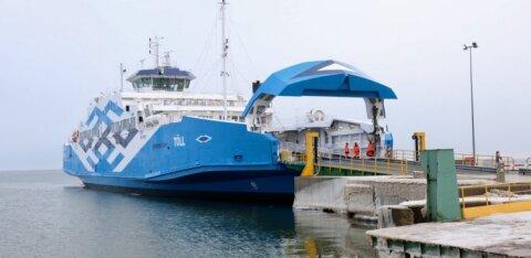TS Laevad paneb 1,6 miljoni euroga ühe parvlaeva elektriga sõitma