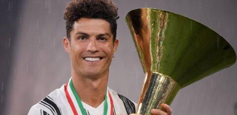 Meedia: Cristiano Ronaldo kaalus Juventusest lahkumist