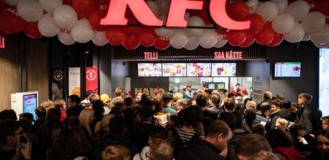 Tartu esimene KFC avatakse Lõunakeskuses