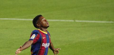 Lionel Messi mantlipärija vedas Barcelona võidule, Luis Suarez tegi unistuste debüüdi