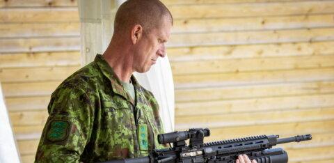 Täiustatud M203: kaitseväe uus granaadiheitja
