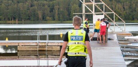 На пляже Пярну утонул пожилой гражданин Финляндии