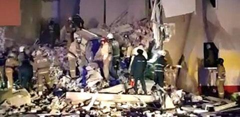 ФОТО и ВИДЕО: Под Белгородом обрушилась часть многоквартирного дома. Сообщают о взрыве газа