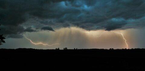 В четверг нас ждут дожди и грозы. А что в выходные?