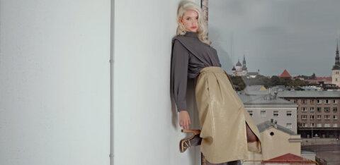 FOTOD | Inga Vatsk-Laasner toob Tallinn Fashion Weeki lavale <em>vintage</em> kangad Eestist ja välismaalt
