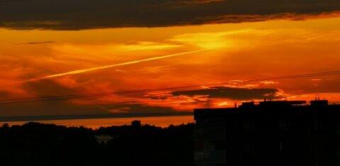 ФОТО и ВИДЕО читателя RusDelfi: Красивые закаты в Ласнамяэ и у моря