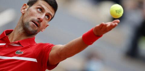 Djokovic alistas Leedu esireketi mängleva kergusega