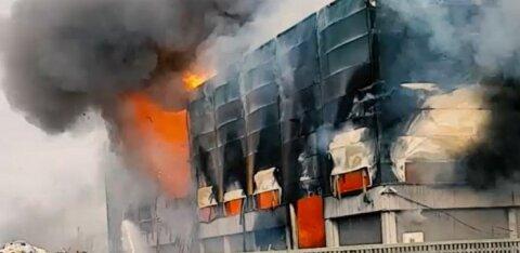 """""""Ядерный взрыв"""" на производстве в Ласнамяэ: как это было и чем все закончится"""