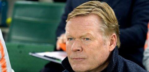 DELFI AMSTERDAMIS | Hollandi peatreener Ronald Koeman: tahan täismaja publikule pakkuda võiduka mängu
