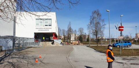 ФОТО | В Таллинне продуктовые пакеты получили более четверти учеников