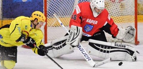 Нарвские хоккеисты уверенно разобрались с чемпионом Эстонии