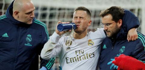Hazard peab El Clasico vahele jätma