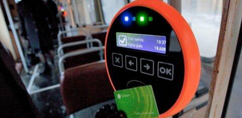 Таллинн вводит QR-билет для общественного транспорта