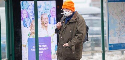 Жителей Чехии обязали носить по две маски сразу