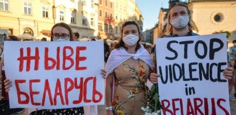 Baltimaade ja Poola presidendid kutsuvad Valgevene riigipead lõpetama oma rahva vastu jõu kasutamine