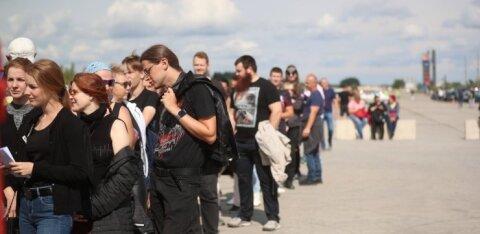 ОНЛАЙН-БЛОГ: Nothing else matters! Легендарная Metallica выступит в Тарту. Приехали тысячи фанатов, ворота уже открыты!