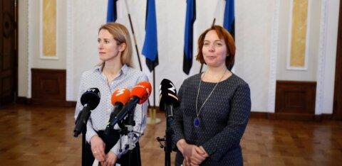 ФОТО и ВИДЕО | Восстановить имидж Эстонии, построить восточную границу. Коалиционные переговоры продолжаются