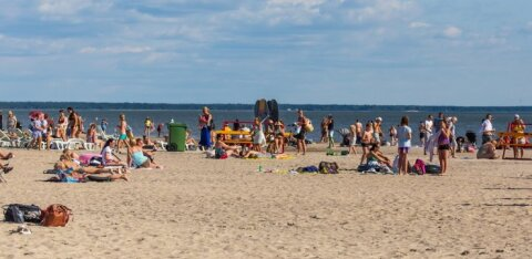 Tänavune viimane palav rannapäev? Temperatuur kerkis üle 25 kraadi, ent homsest hakkab vihma kallama ja oodata äikest