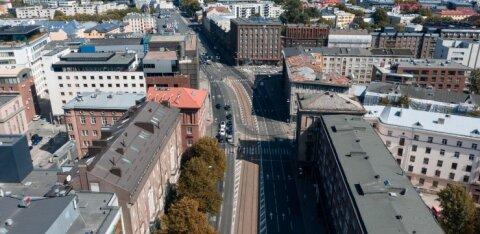 Нарвское шоссе частично перекрыто в связи с ремонтом трубопровода